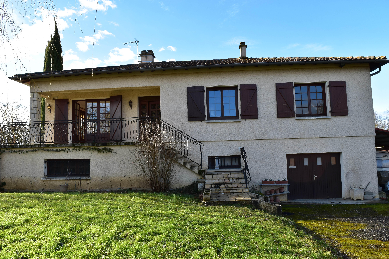 Maison 120m² + garage 145m² + jardin 1288m²