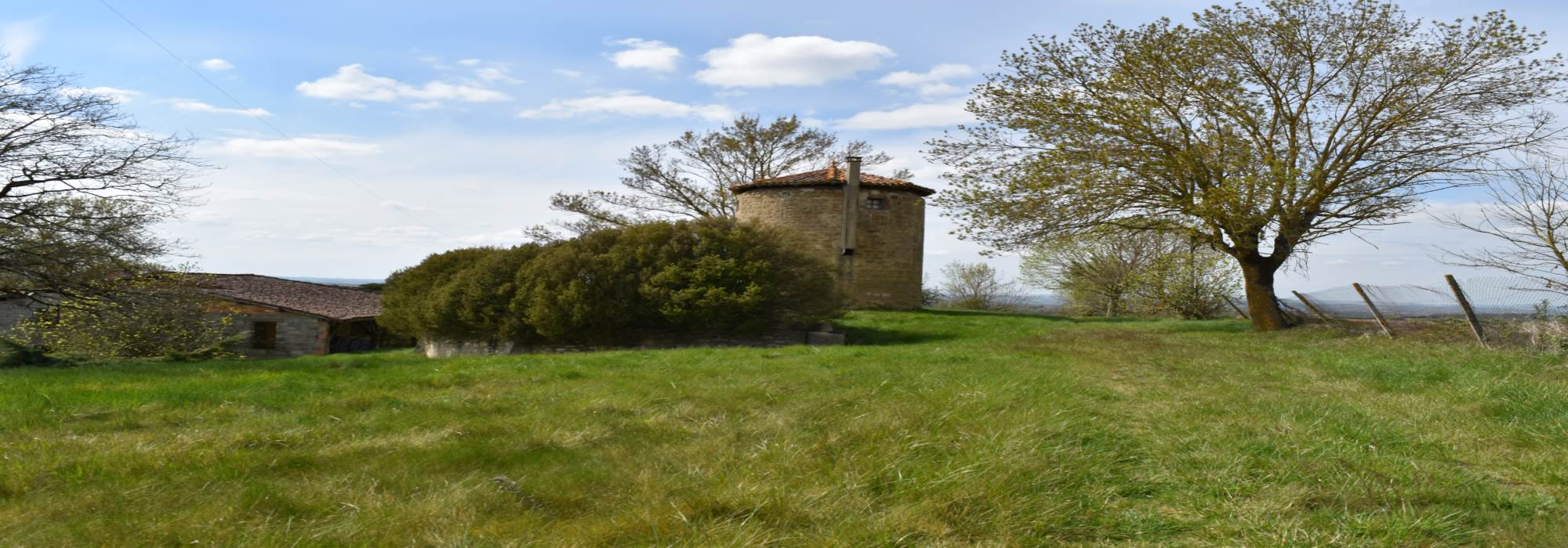Old windmill with outbuilding to renovate – 1Ha