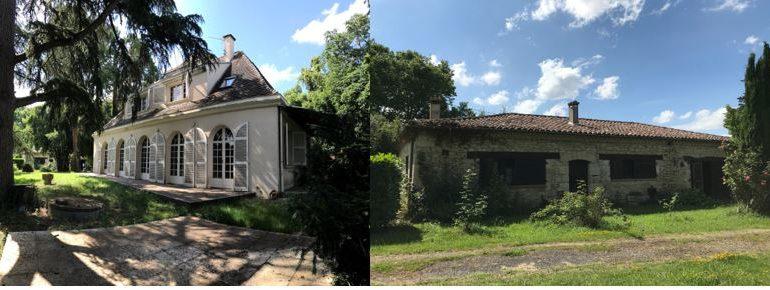 maison de maitre à vendre Mauvezin 32