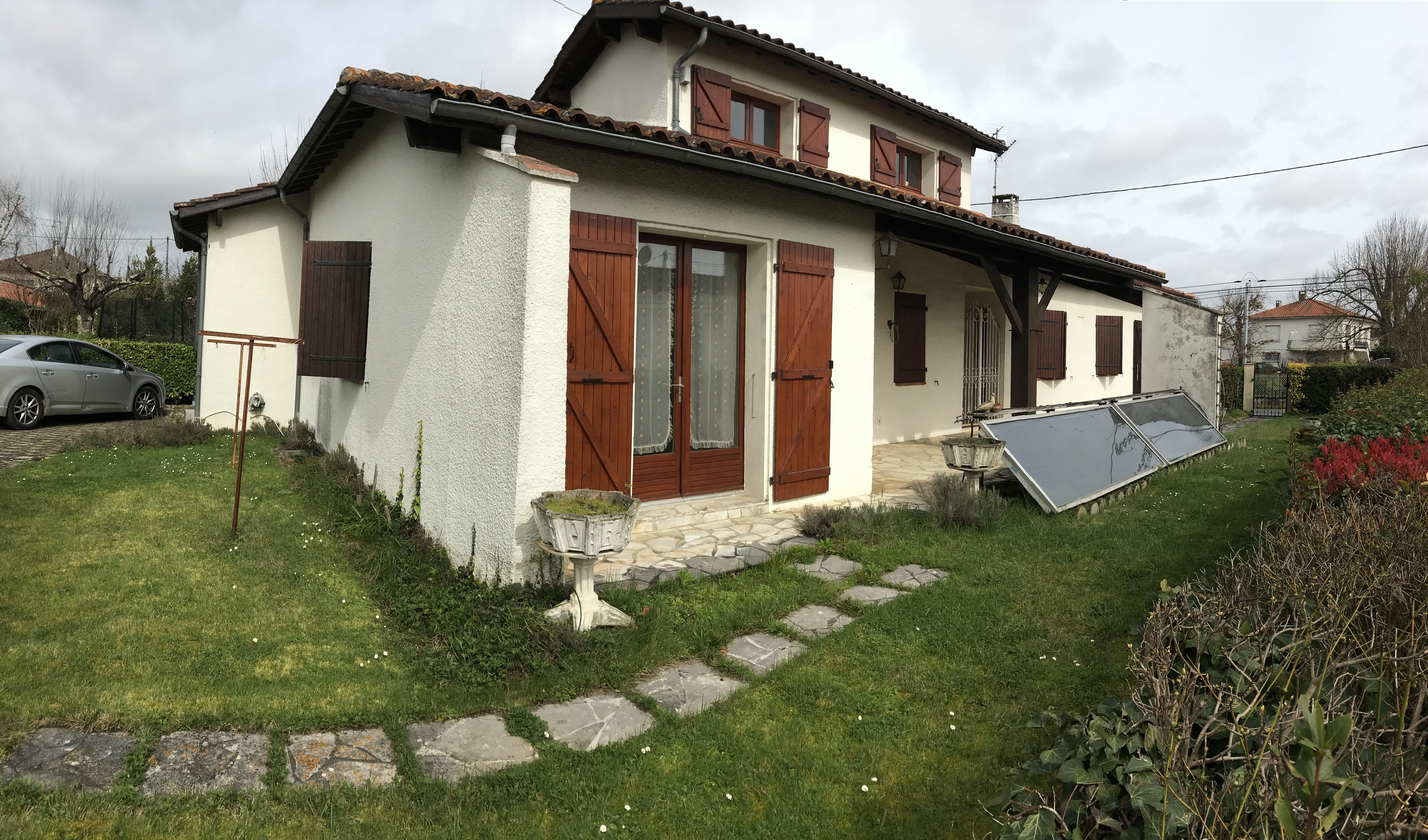 Maison 170m² – 4 chambres – jardin – Garage