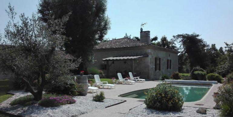 Maison en pierre à vendre Mauvezin Gers